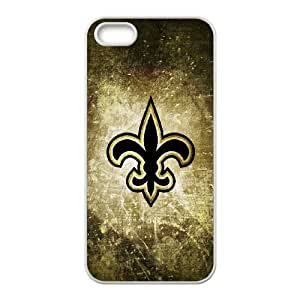 New Orleans Saints iPhone 4 4s Cell Phone Case White ljyj