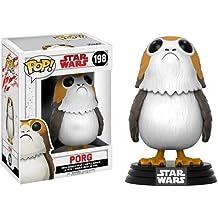 POP! Star Wars: The Last Jedi - Porg - Figura coleccionable (los estilos pueden variar), Estándar, Blanco