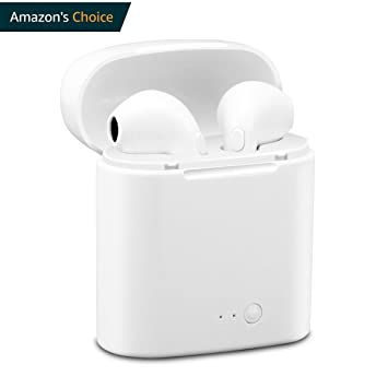 Auriculares inalámbricos, amuoc auriculares Bluetooth auriculares estéreo inalámbrico Sport auriculares para iPhone X/8