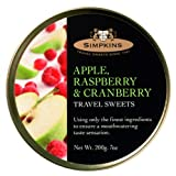Simpkins Apple, Raspberry & Cranberry Travel Sweets, 1er Pack (1 x 200 g)