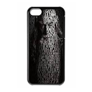 Custom High Quality WUCHAOGUI Phone case Lord Of The Rings Protective Case For Iphone 5c - Case-15