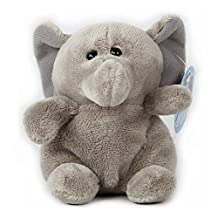 WILDREAM 4.7 Inches Beanie Babies The elephant Plush Toy Stuffed Animals