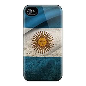 New Arrival Premium 4/4s Case Cover For Iphone (argentina Flag)
