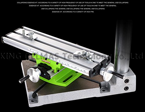 Miniature precision multifunction Milling Machine Bench drill Vise Fixture worktable X Y-axis adjustment Coordinate table (Miniature Machine Tools compare prices)