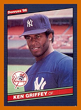 2d4ac329a7 1986 Donruss #126 Ken Griffey Sr. NEW YORK YANKEES at Amazon's Sports  Collectibles Store