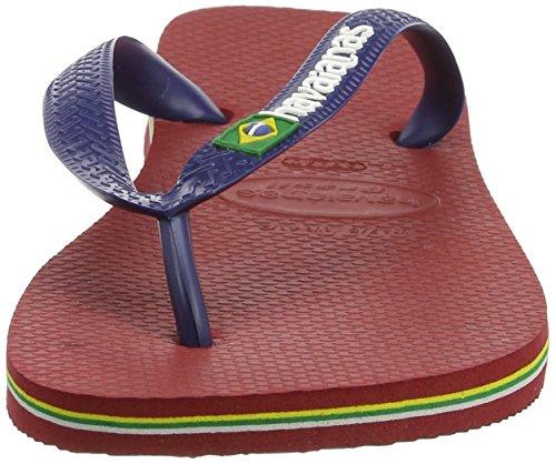 Tongs Havaianas - Havaianas Brasil Flip Fl ... Rouge
