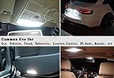 YITAMOTOR 20 x White T10 Wedge 10-SMD LED Light bulbs W5W 2825 158 192 168 194