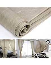 Anti Radiation Breathable Shielding Mesh Cloth,100% Silver Fiber Conductive Neting Fabric 5G/WiFi/RF/EMI/EMF/LF Blocking for Making Curtains Sheets