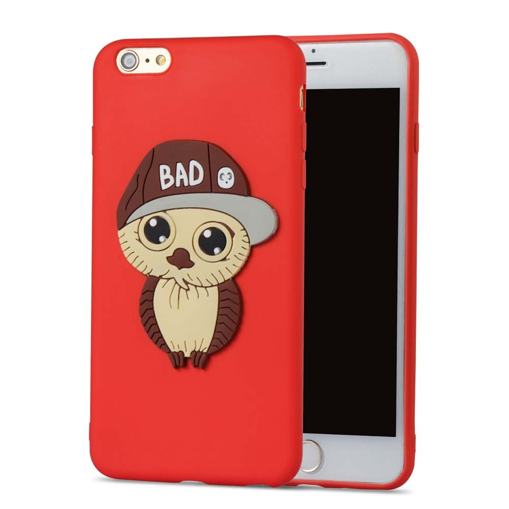 aeeque® 18 3d Garcon niña búho y Panda 3d animales Design silicona ...