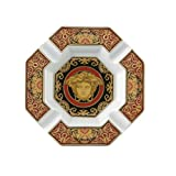 Versace by Rosenthal Medusa Red 5-1/2-Inch Ashtray