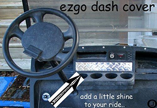 Ezgo Golf Cart Diamond Plate Dash Cover
