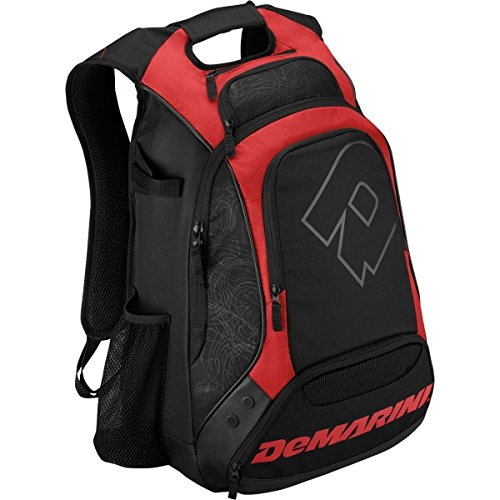 Demarini Equipment Bags (DeMarini  NVS Baseball/Softball Backpack, Red)