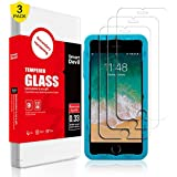 SmartDevil Screen Protector Compatible with iPhone 8 Plus 7 Plus,[5.5inch][3Pack],HD Tempered Glass Screen Protector with Easy Installation Kit, Case Friendly for iPhone 8 Plus,7 Plus,6 Plus,6s Plus