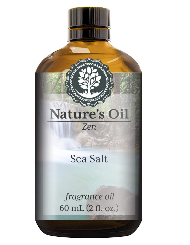 Sea Salt Fragrance Oil (60ml) For Diffusers, Soap Making, Candles, Lotion, Home Scents, Linen Spray, Bath Bombs, Slime