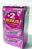 Trident Bubblegum Sugar Free 18-Count (Pack of 14)