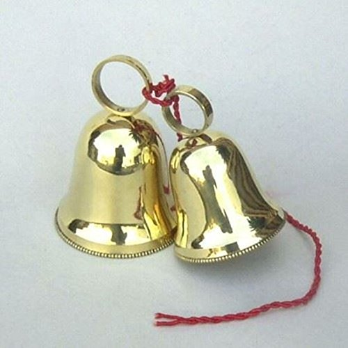 India Overseas Trading Corporation BR 18524 Brass Christmas Bells by India Overseas Trading Corporation