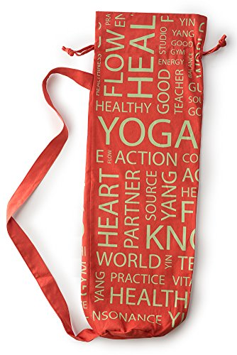 HemingWeigh Yoga Mat Bags (Saffron Red)