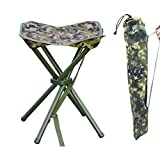 AGOOL Portable Folding Stool Outdoor Square Slack Chair...
