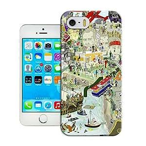 LarryToliver Cool Customizable Exquisite artwork iphone 5/5s Case Cover Best Case