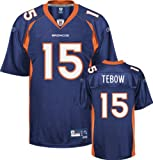Tim Tebow Denver Broncos NFL On-Field Jersey Reebok