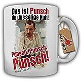 Alfred Tetzlaff Punsch Silvesterpunsch dusselige Kuh Kult Serie - Tasse Kaffee Becher #10636