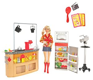 Mattel Barbie I Can Be TV Chef Playset