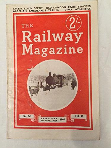 London Underground Subway System (The Railway Magazine January February 1944 Volume 90 No. 549)