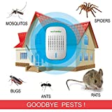 Ultrasonic Pest Repellent - Repels Rodents and Insects - the best electronic plug in repellent, home pest control solution. End your pest infestation now!