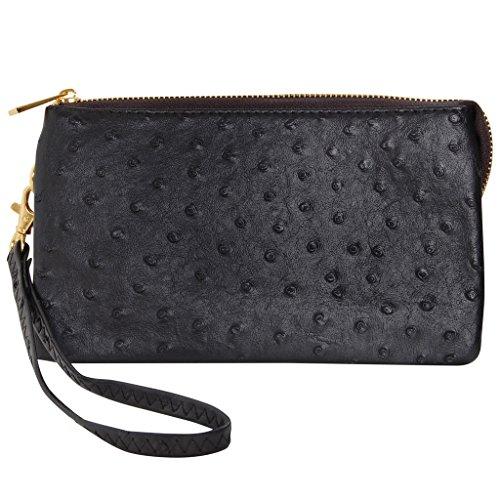 Textured Clutch Wallet - 1