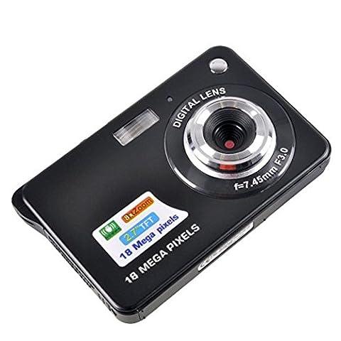 Mini Digital Camera,KINGEAR 2.7 inch TFT LCD HD Digital Camera(Black) (Digital Cameras)