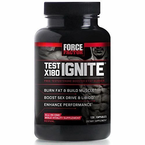 Buy force factor test x180 ignite test booster