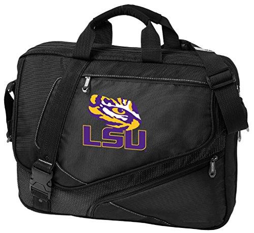 Broad Bay Large LSU Tigers Laptop Bag OUR BEST LSU Computer Bag by Broad Bay
