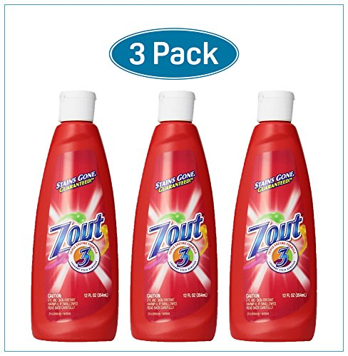 - Zout Triple Enzyme Formula Laundry Stain Remover, 12 Oz (Pack of 3)