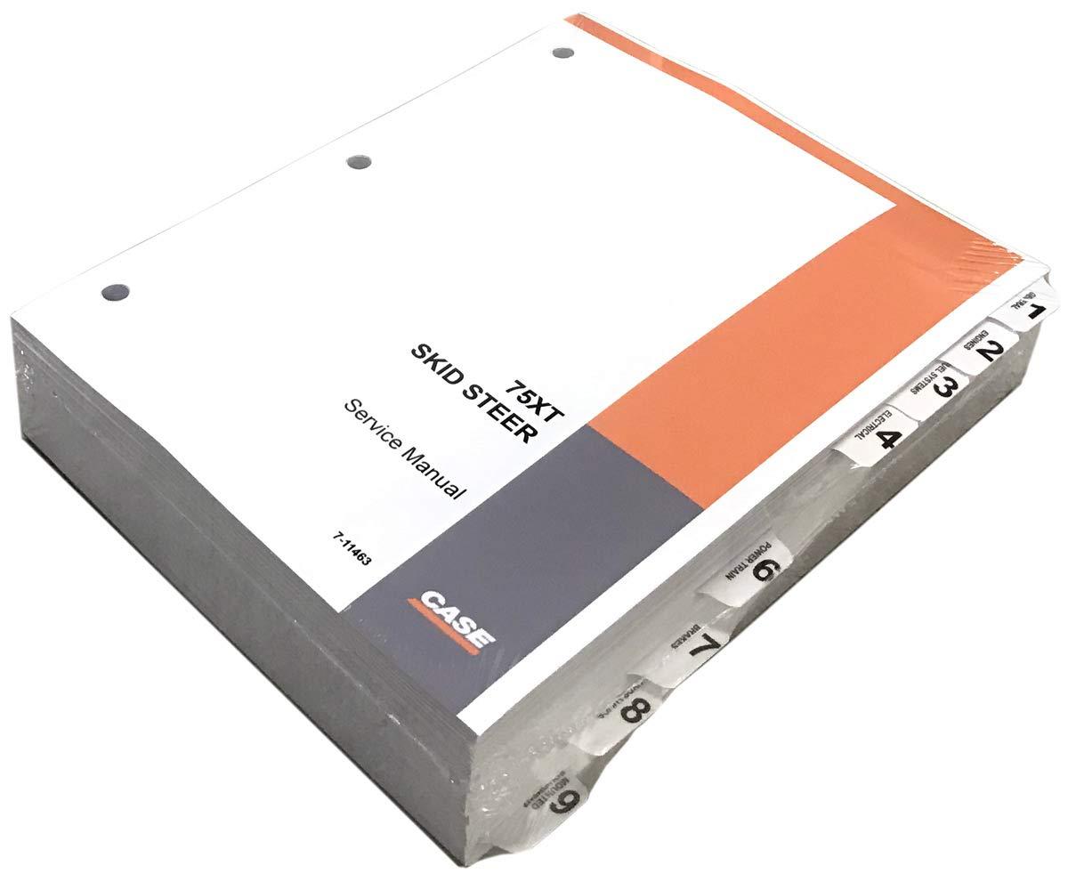 Case 75XT Skid Steer Workshop Repair Service Manual - Part Number # 7-11463
