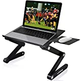 """Best Mount With Vented Laptops - Adjustable Laptop Stand, LATOW 17"""" Portable Laptop Desk Review"""