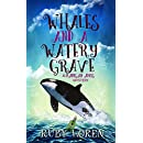 Whales and a Watery Grave: Mystery (Madigan Amos Zoo Mysteries Book 7)
