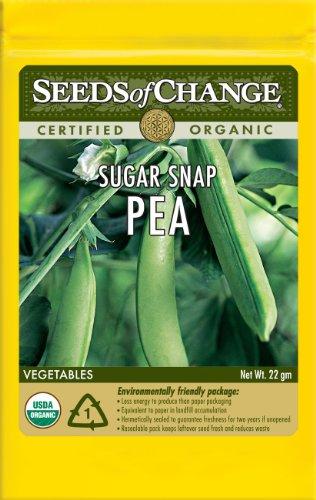 Seeds of Change S15085 Certified Organic Sugar Snap Pea