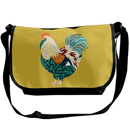 Black Bag Casual Animals Sling Fashion Womens Chicken Bags Rooster Crossbody Handbag g4qYvU