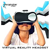 Zvision Virtual Reality Headset, Turn Any Smartphone Into A Virtual Reality World (Silver)