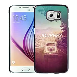 NEW Unique Custom Designed Samsung Galaxy S6 Phone Case With The Journey Not The Destination_Black Phone Case