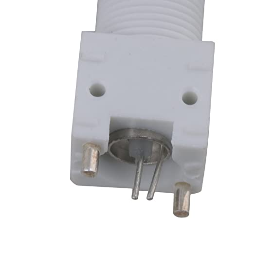 BQLZR blanco vertical 500 V BNC Hembra PCB Montaje en panel de soldadura Hierro adaptador conector Pack de 10: Amazon.es: Iluminación