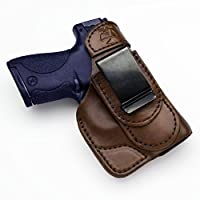 Talon Tuckable S&W Shield Taurus PT709 9/40 IWB Holster Right Hand Brown with...