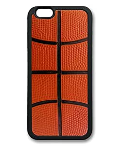 Basketball Pattern Theme Iphone 6 Case TPU Material (4.7inch)