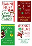 Front cover for the book Plum Pudding Murder by Joanne Fluke