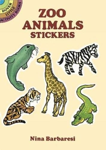 Zoo Animals Stickers (Dover Little Activity Books Stickers)