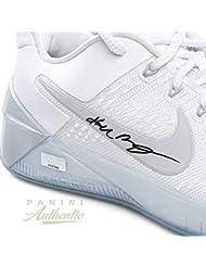 975f7501f9b4 Kobe Bryant Autographed Signed Memorabilia White Nike Kobe Ad Shoes Panini