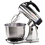 Sunbeam 2379 Mixmaster 300-Watt 12-Speed Stand Mixer with...