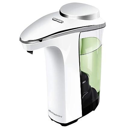 BRIAN & DANY Dispensador de jabón, Sensor automático táctil, Bomba de jabón, 500