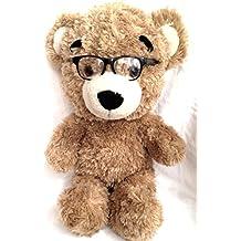 "Build A Bear Workshop Cool School Bearemy 17"" Plush Big Head Bear"