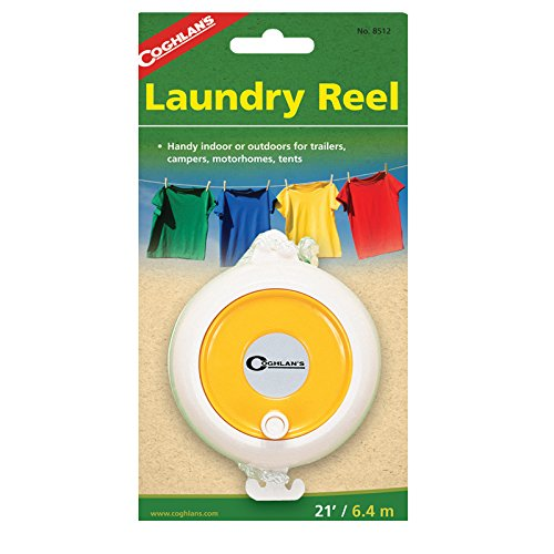 Coghlan's Camp Laundry Reel made our CampingForFoodies hand-selected list of 100+ Camping Stocking Stuffers For RV And Tent Campers!